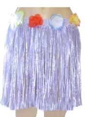 jupe hawaïenne, accessoire hawaïen, déguisement hawaïen, accessoire déguisement hawaï, jupe hawaï, jupe raphia hawaï, Jupe Hawaïenne, Raphia Violet