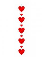 guirlande coeurs rouges Guirlande Supension Coeurs