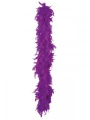 boa, boa de déguisement, boa années 30, boas charleston, boa années 20, boa années folles, boas vviolets, boa violet, boa en plumes violettes Boa en Plumes Violettes