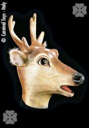masque de cerf, masque animal latex, masque de déguisement, masque animaux, accessoire déguisement animaux, masque d'animal déguisement, masques d'animaux déguisement, se déguiser en animal Masque de Cerf, Latex