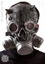 masque à gaz déguisement, masque de déguisement, accessoire masque déguisement, accessoire déguisement masque Masque à Gaz Silver