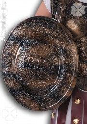 faux bouclier, bouclier romain déguisement, accessoire déguisement, accessoire bouclier, faux bouclier gladiateur, accessoire gladiateur déguisement, accessoire romains déguisement Bouclier Romain