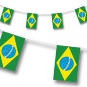 guirlande drapeaux brésiliens, guirlande fanions du brésil Guirlande Drapeaux, Brésil
