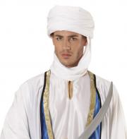 turban arabe, chapeau oriental, coiffe de sheik arabe, accessoire déguisement cheik arabe, chapeau laurence d'Arabie Turban Arabe