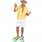 sandales gonflables, tongues gonflables, accessoire hawaï déguisement, accessoire déguisement humour, fausse chaussures déguisement Sandales Tongues Gonflables