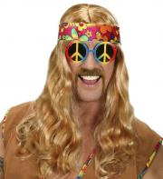 fausses moustaches, postiche, moustache postiche, fausses moustaches réalistes, fausse moustache de déguisement, moustaches disco, moustaches hippies, moustaches seventies Moustache 70s, Châtain et Blonde