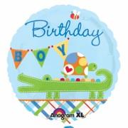 ballon hélium, anniversaire garçon, ballon alu anniversaire, ballon garçon Ballon Aluminium, Anniversaire Garçon