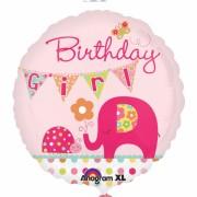 ballon hélium, ballon anniversaire fille, ballon alu fille Ballon Aluminium, Anniversaire Fille