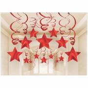 suspension étoiles rouges Suspension Shooting Star, Rouge