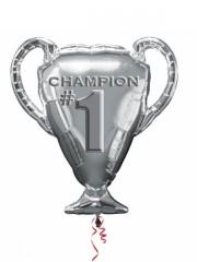 ballon hélium, ballon champion, ballon euro 2016, accessoires euro 2016, décorations euro 2016 Ballon Aluminium, Coupe de Champion