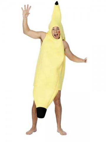 costume banane adulte, déguisement banane homme, déguisement humour homme, costume humoristique, déguisement de banane adulte, déguisement fruit adulte, déguisement fruit homme, déguisement enterrement de vie de garçon Déguisement Banane