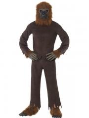 déguisement de singe, déguisement singe adulte, déguisement chimpanzee, déguisement gorille, déguisement animal adulte, déguisement animal homme Déguisement Singe, Combinaison + Coiffe