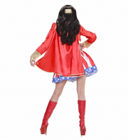 déguisement de super héros femme, costume super héros pour femme, déguisement d'héroïne femme, wonder woman femme Déguisement Super Héros Girl