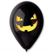 ballon halloween, ballon en latex halloween, ballon citrouille halloween, ballon de baudruche halloween, accessoire décoration halloween, ballons pour halloween Ballon en Latex, Citrouille Maléfique Halloween