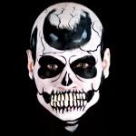 fausse bouche de squelette en latex, maquillage squelette halloween, maquillage de squelette, effets spéciaux maquillage halloween, bouche de zombie halloween Effet Cinema Secrets®, FX, Bouche de Squelette