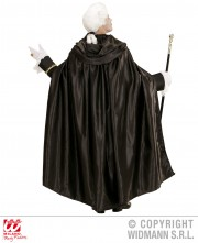 cape noire halloween, cape halloween adulte, cape satin noir déguisement, cape déguisement halloween, cape adulte halloween, cape noire adulte halloween, cape noire à capuche déguisement, cape capuche déguisement, cape carnaval de venise Cape Noire à Large Capuche, Satin