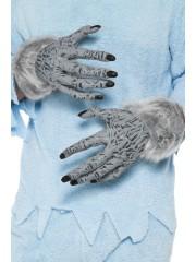 gants de loup, gants de monstre, gants halloween, accessoire halloween déguisement, gants de monstre halloween, gants loup garou halloween, gants déguisement monstre Gants de Loup ou de Monstre