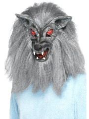 masque de loup garou, masque de déguisement, masque animaux, accessoire déguisement animaux, masque d'animal déguisement, masques d'animaux déguisement, se déguiser en animal Masque de Loup Garou Tiepeur