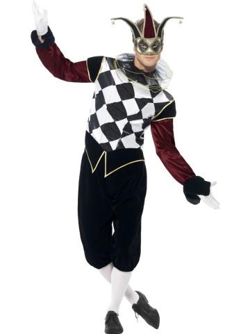 déguisement d'arlequin, déguisement carnaval de venise, déguisement arlequin homme, costume arlequin homme, costume arlequin venise homme Déguisement Arlequin Gothique