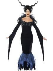 déguisement halloween femme, robe halloween, costume halloween femme, costume démon halloween, déguisement démon halloween, beau costume halloween paris Déguisement Démon, Lady Raven