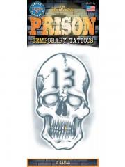 tatouage temporaire, faux tatouage, tatouage tête de mort Tatouage Temporaire, Tête de Mort 13