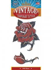 tatouage temporaire, faux tatouage, tatouage rose Tatouage Temporaire, Roses Rouges