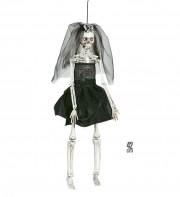 décorations halloween, suspension déco halloween, accessoire décoration halloween, accessoire halloween décorations, squelette halloween, suspension squelette halloween, suspension de la mort halloween Suspension Mariée Squelette