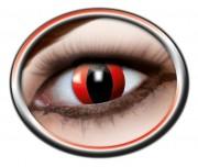 lentilles halloween, lentilles fantaisie, lentilles déguisement, lentilles déguisement halloween, lentilles de couleur, lentilles fete, lentilles de contact déguisement, lentilles rouges, lentilles oeil de chat rouge, lentilles halloween Lentilles Oeil de Chat, Rouges, Red Cat