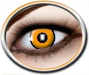 lentilles orange, lentilles halloween, lentilles fantaisie, lentilles déguisement, lentilles déguisement halloween, lentilles de couleur, lentilles fete, lentilles de contact déguisement, lentilles oeil de corbeau, lentilles oranges halloween Lentilles Oranges, Oeil de Corbeau