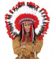 coiffe d'indien, plumes d'indien, accessoire déguisement indien, déguisement d'indien, coiffe d'indien à plumes, coiffure d'indien, coiffe de chef indien, coiffe déguisement Coiffe d'Indien, Maxi