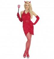 déguisement de diablesse, déguisement halloween, costume de diable femme, costumes halloween femme, déguisement démon femme, costume démon femme, déguisement diablesse Déguisement Diablesse Velours