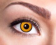 lentilles oranges, lentilles halloween, lentilles fantaisie, lentilles déguisement, lentilles déguisement halloween, lentilles de couleur, lentilles fete, lentilles de contact déguisement, lentilles Lentilles Oranges, Oeil de Corbeau