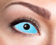lentilles sclera, lentilles yeux complets, lentilles halloween, lentilles fantaisie, lentilles déguisement, lentilles déguisement halloween, lentilles de couleur, lentilles fete, lentilles de contact déguisement, lentilles bleues halloween, lentilles 22 mm Lentilles Sclera 22 mm, Bleues, Bleu Glacier