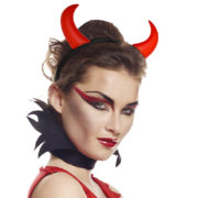 cornes de diable, accessoire halloween déguisement, accessoire déguisement halloween, accessoire diable déguisement, accessoire déguisement diable, cornes de diables halloween, cornes de diable pour halloween Cornes de Diable, Rouges