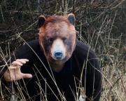 masque d'ours, masque de déguisement, masque animaux, accessoire déguisement animaux, masque d'animal déguisement, masques d'animaux déguisement, se déguiser en animal Masque d'Ours Brun