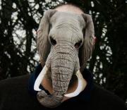 masque d'éléphant, masque de déguisement, masque animaux, accessoire déguisement animaux, masque d'animal déguisement, masques d'animaux déguisement, se déguiser en animal Masque d'Eléphant