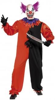 déguisement clown homme, costume clown homme, déguisement clown adulte, accessoire clown déguisement, déguisement clown halloween, déguisement clown maléfique Déguisement Clown Sinistre