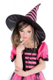 déguisement de sorcière enfant, déguisement halloween fille, déguisement halloween enfant, déguisement sorcière halloween enfant, déguisement sorcière halloween fille, costume halloween enfant, costume sorcière fille Déguisement de Sorcière Rose, Fille