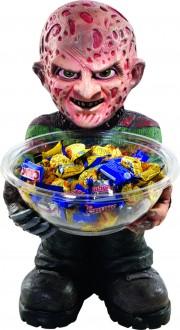 déco freddy krueger, pot à bonbons freddy kruegger, décoration vendredi 13, accessoire décoration halloween Déco Vide Poche, Pot à Bonbons, Freddy Krueger™