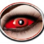 lentilles sclera, lentilles yeux complets, lentilles halloween, lentilles fantaisie, lentilles déguisement, lentilles déguisement halloween, lentilles de couleur, lentilles fete, lentilles de contact déguisement, lentilles rouges 22 mm halloween Lentilles Sclera 22 mm, Rouges, Devil