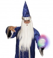 boule de cristal lumineuse, boule de cristal déguisement, déguisement de magicien, accessoire déguisement, fausse boule de cristal, accessoire déguisement gitane Boule de Cristal Lumineuse