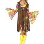 déguisement hippie femme, costume hippie femme, déguisement flower power femme, costume flower power femme, costume années 70 femme, déguisement années 70 femme, déguisement peace and love femme, costume femme hippie Déguisement Hippie Groovy Girl, 70s