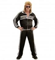 déguisement années 80 homme, déguisement survet disco, déguisement beauf, déguisement années 80 homme, déguisement années 90 homme, déguisement ringard homme Déguisement Années 80, Survet' Noir