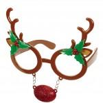 lunettes de déguisement, lunettes de fêtes, lunettes soirée déguisée, accessoires lunettes,lunettes fantaisie, lunettes pas chères,lunettes de renne, lunettes de Noël Lunettes de Renne, Nez Paillettes