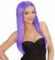perruque violette, perruque cheveux longs, perruque glamour, perruque pas chère à paris, perruques femmes, perruques cheveux longs Perruque Glamour Wig, Violette