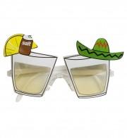 lunettes de déguisement, lunettes de fêtes, lunettes soirée déguisée, accessoires lunettes, lunettes pas chères,lunettes fantaisie, lunettes tropicales, lunettes tequila, lunettes hawaï Lunettes Tequila