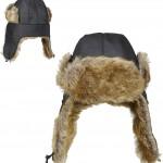 chapeau de pilote fourrure, chapeaux d'aviateur fourrure, chapeaux paris, accessoires aviateurs, chapeaux de pilotes, chapeaux chapka, déguisement de pilote Chapeau d'Aviateur Pilote, Fourrure