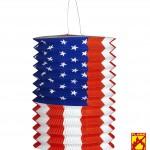 lampion drapeau américain, déco US, déco américaine Lampion Drapeau Américain