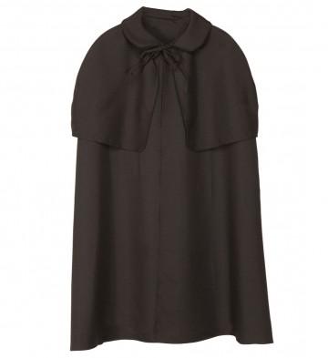 cape manteau à capeline, cape sherlock holmes, cape déguisement sherlock holmes, cape déguisement adulte, cape noire déguisement Cape Début de Siècle, Sherlock, Noire