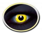 lentilles UV, lentilles fluos, lentilles halloween, lentilles fantaisie, lentilles déguisement, lentilles déguisement halloween, lentilles de couleur, lentilles fete, lentilles de contact déguisement, lentilles jaunes fluos Lentilles Fluos, Jaunes
